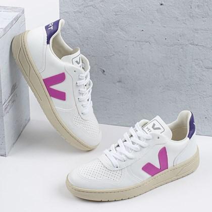 Tênis Vert Shoes V-10 CWL White Ultraviolet Purple VX072536