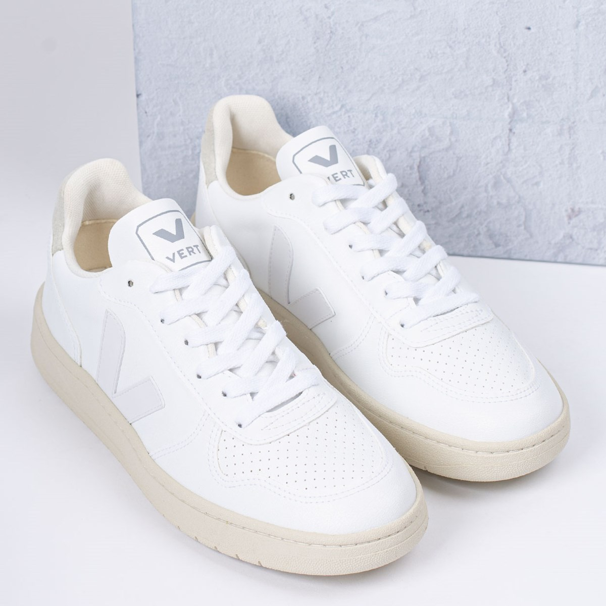 Tênis Vert Shoes V-10 CWL White White Natural VX072071