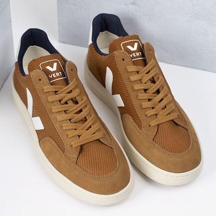 Tênis Vert Shoes V-12 B-Mesh Tent White XD012342