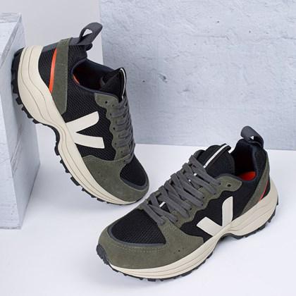 Tênis Vert Shoes Venturi B Mesh Black Olive VT012115