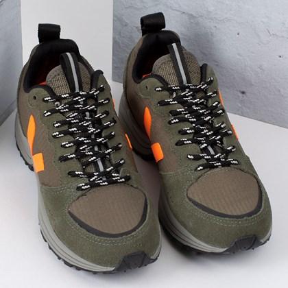 Tênis Vert Shoes Venturi Ripstop Kaki Neon Orange VT012496