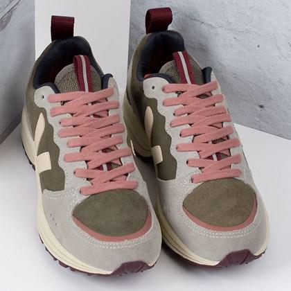 Tênis Vert Shoes Venturi Suede Kaki Sable Oxford Grey VT032350