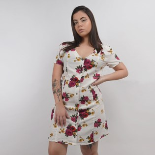 Vestido Vans Feminino Brunchin Dress Botanical Floral VN0A47TBUWZ